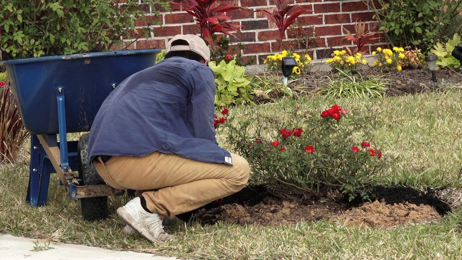 HOA sues elderly couple over flower beds, seeking up to $100,000 in damages